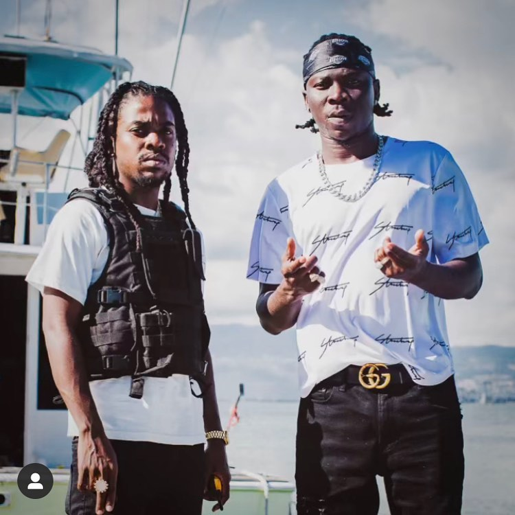 Stonebwoy & Jahmiel star in an action-packed visuals of 'Motion'
