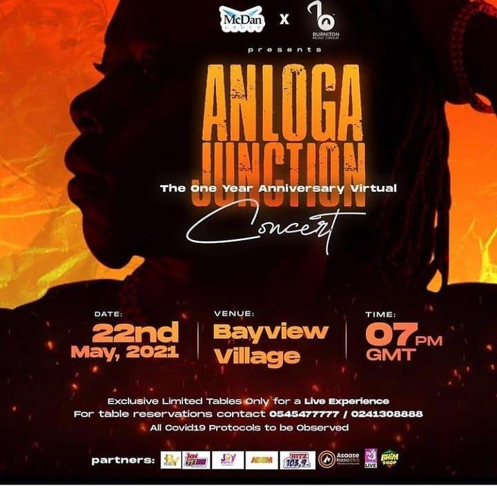 "Stonebwoy celebrates ""Anloga Junction"" album in a Grand Virtual concert"