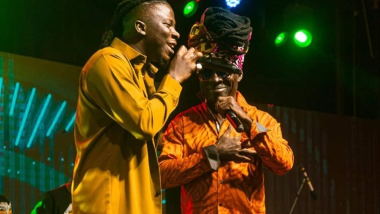 Kojo Antwi makes rare appearance at Stonebwoy's 'Anloga Junction' virtual concert