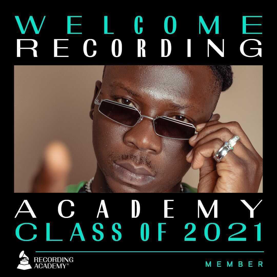 Stonebwoy announced a new Grammys Academy Member class