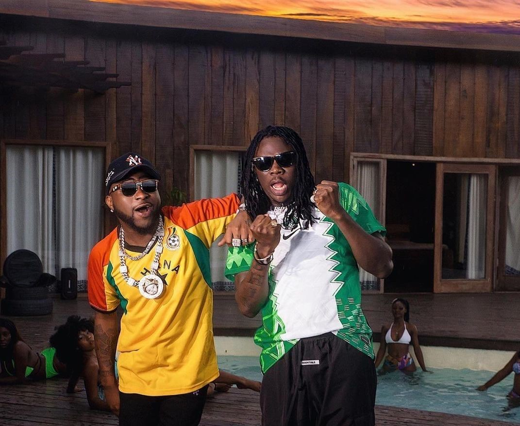 """Stonebwoy and Davido collide on """"Activate"""""""